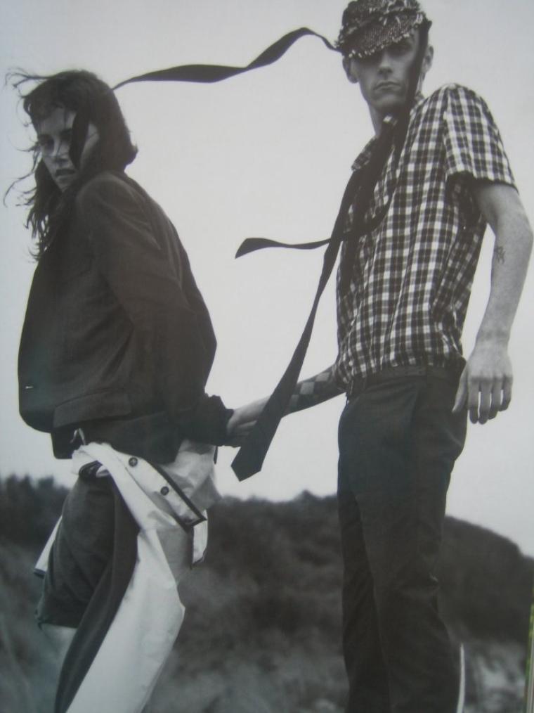 Kristen et Son grand frère Cam