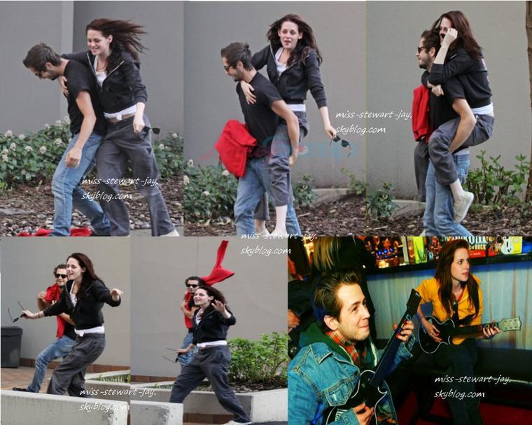 FLASHBACK de la relation entre Kristen et Michael !
