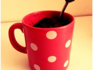 Mug fondant au chocolat ! Miaaaam