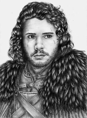 Kit Harrington - Jon Snow 26/02/16