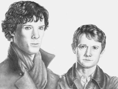 Benedict Cumberbatch & Martin Freeman - 08.12.16