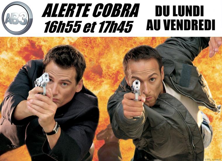 La chaîne belge AB3 va diffuser Alerte Cobra