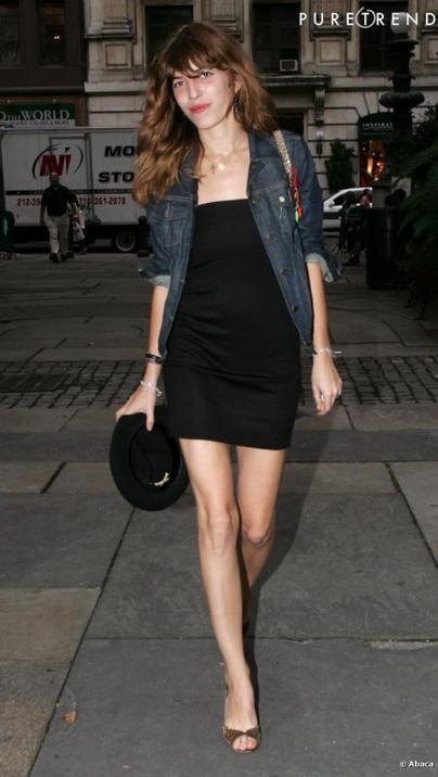 Comment porter la veste en jean en été 2012 ?