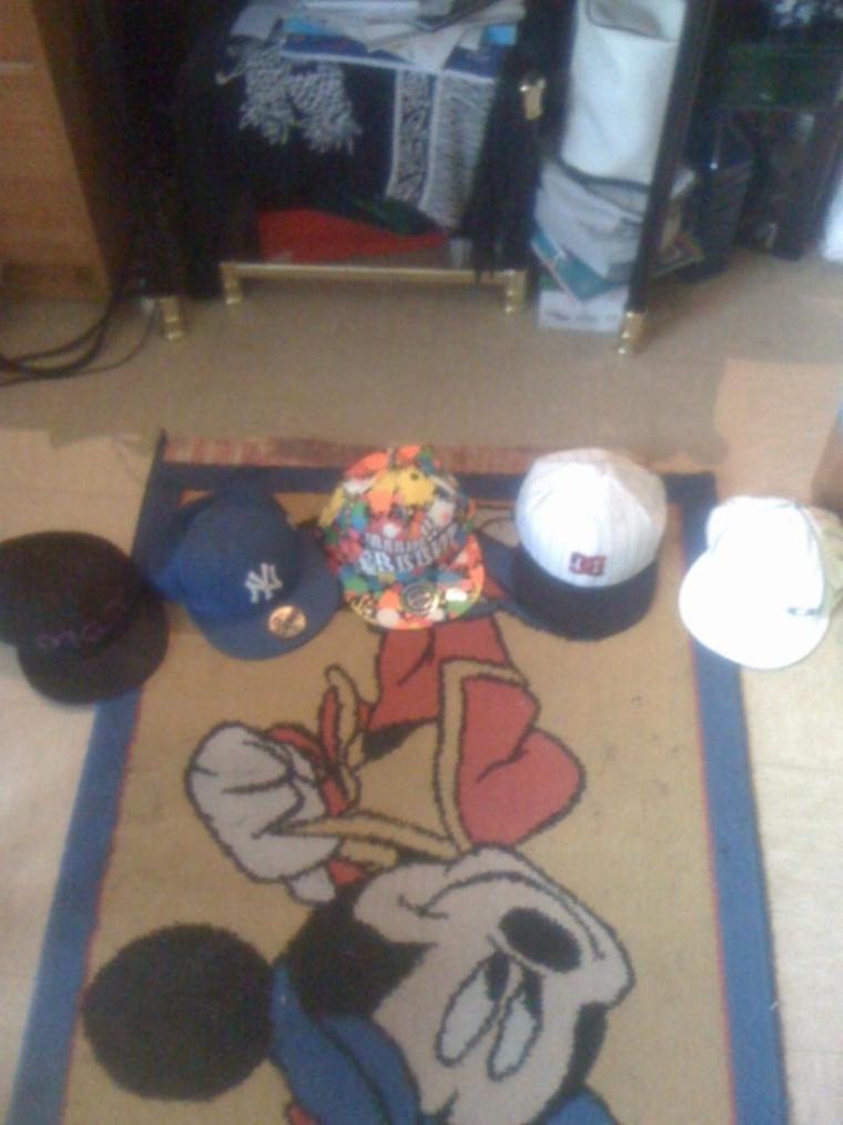 Mes casquettes :)