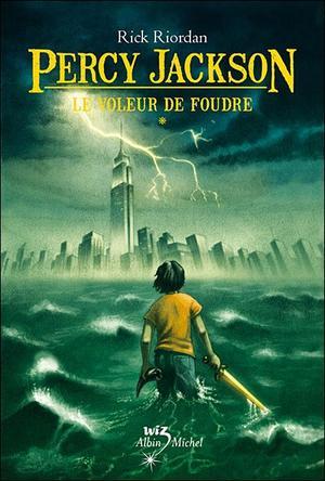 21) Percy Jackson de Rick Riordan