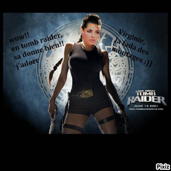 (l)montage photos de moi!!en tomb raider:)trop cool(l)