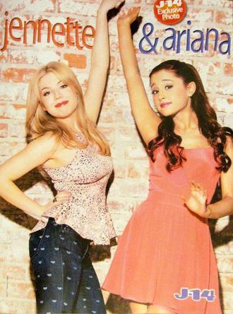 Ariana et jennette pour le magazine J14