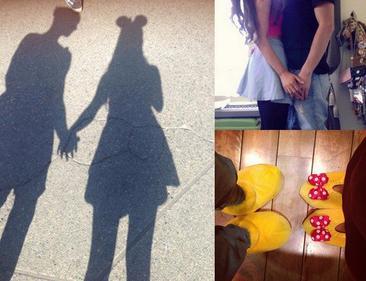 22/04 Ariana a posté 5 photos sur Instagram + elle était à Disneyland avec Jai