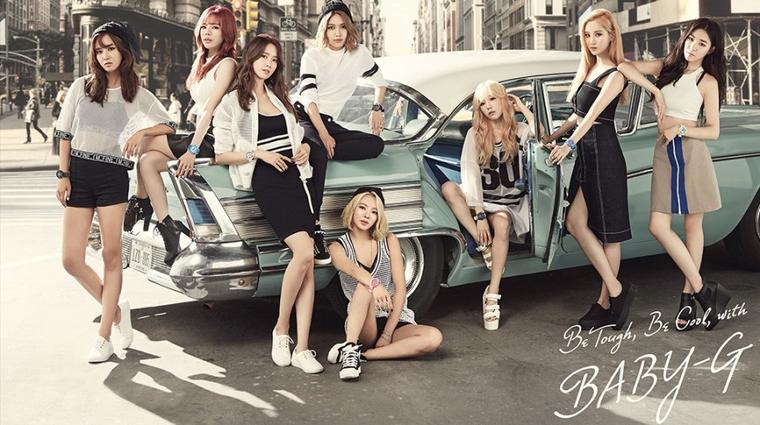 Girl's Generation alias SNSD