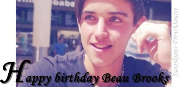 03/08/2013 - Happy birthday Beau !