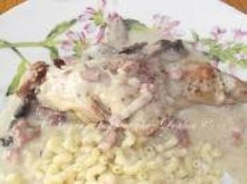 cuisse de lapin a la créme fraiche