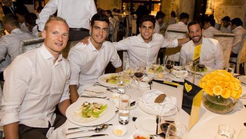 Les joueurs cette semaine (10/08) (Aubameyang,Reus,Schurle,Gotze,Bartra,Mor,Dembele)