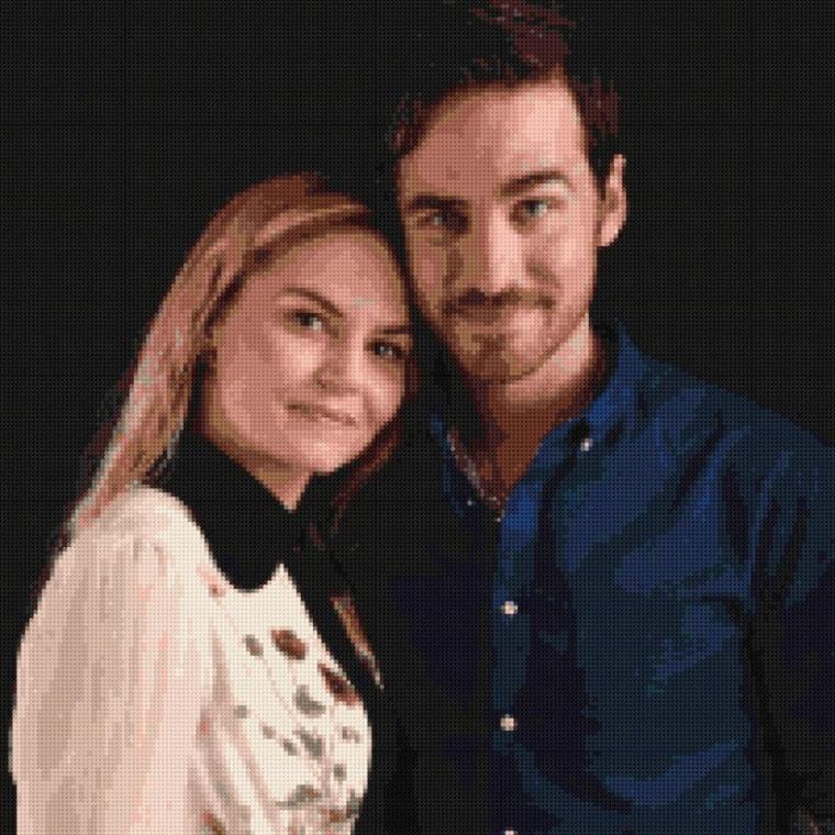 Point de croix n•1 : Jennifer Morrison et Colin O'Donoghue