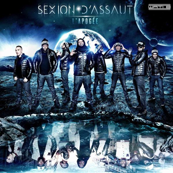 """Cover Officiel De L'Album """"L'APOGEE"""" Dans Les Bacs Le 5 Mars 2012"""
