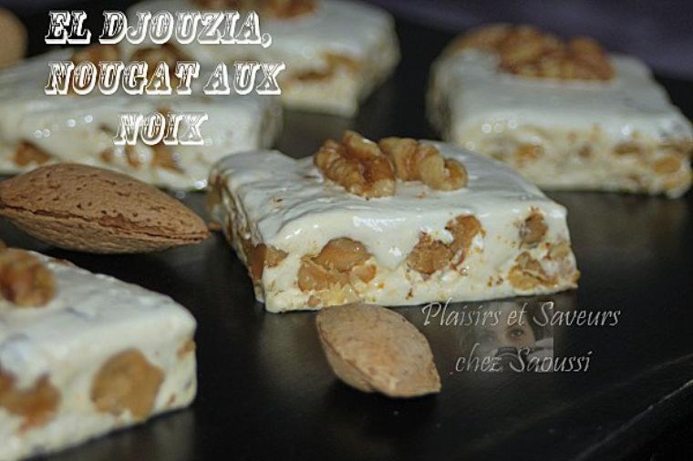 djouzia alias nougat aux noix