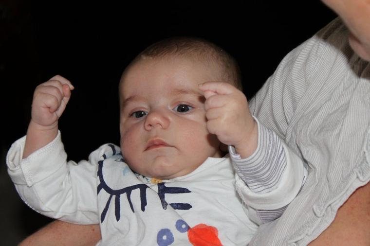 Mon petit fils Noam
