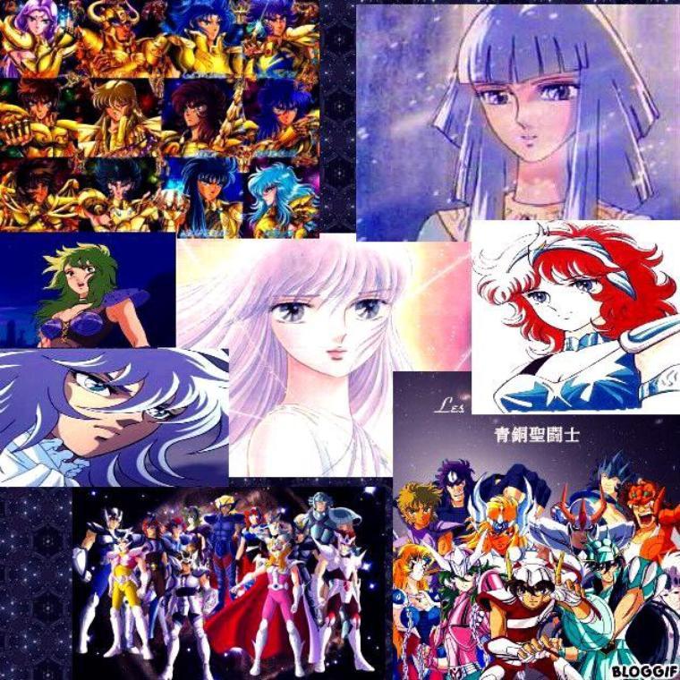 Les autres Personnages Saint Seiya