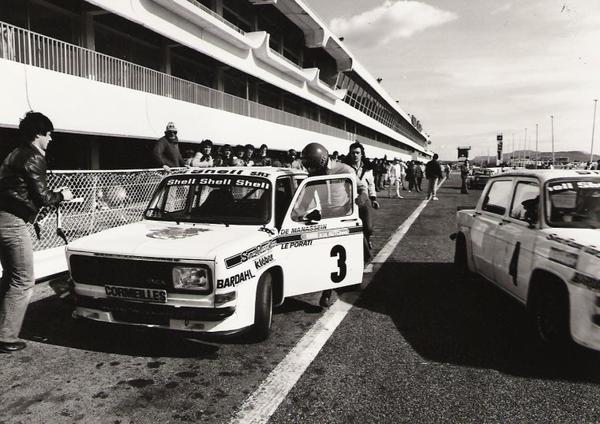 srt cormeilles * circuit du castellet 1979 William Reiber