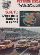 srt cormeilles * srt tours * srt saumur *  Simca rallye2 coupe 1977 très belle restauration regardez ces videos et ce site