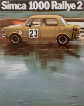 srt cormeilles * 1973 le meilleur moyen de piloter une Rallye2 c'est le SRT