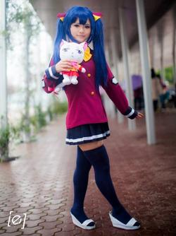Cosplay Wendy !!