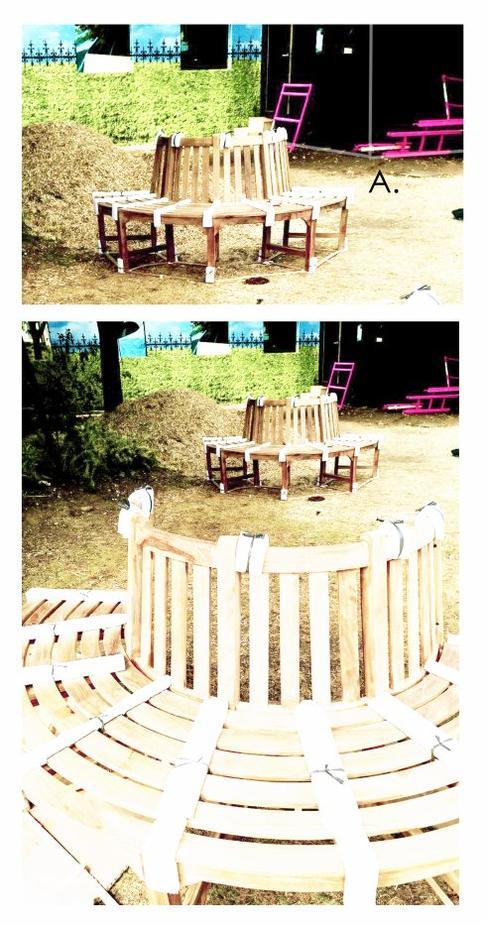 Une partie du Jardin fixé grâce aux photos officielles de TF1...