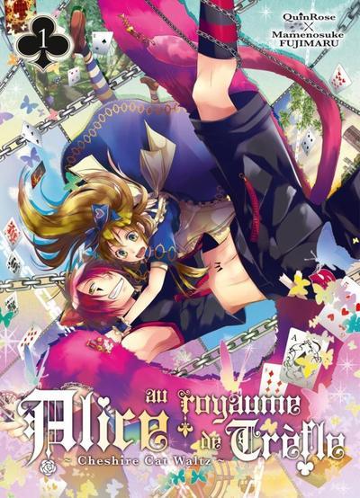 Les mangas d'Alice au Royaume de Trèfle