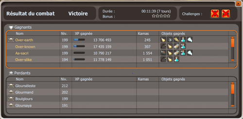 Changement, record temps.tours, up 200, plein de choses quoi x)