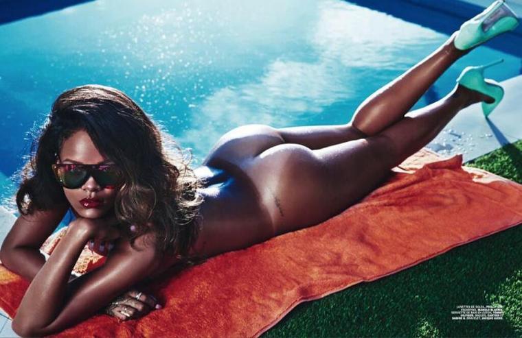 Les photos de Rihanna nue pour le magazine lui !
