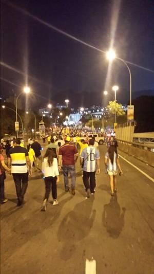Les photos de Cédric auditeur de Skyrock présent au Brésil