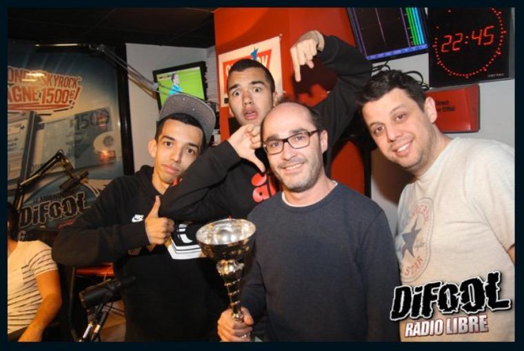 Victoire du duo Romano/ Cédric contre BigFlo et Oli au clash de la drague !