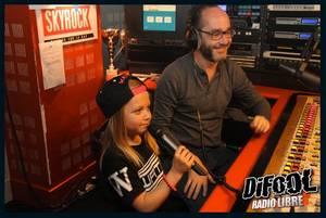 Lilou dans la Radio Libre de Difool !