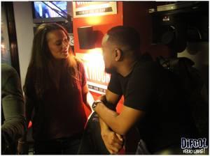 Photos : Alonzo invité dans la Radio Libre de Difool.