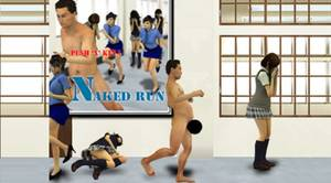 VIDEO : Naked Run, un jeu qui vous fait exhiber vos parties intimes devant des lycéennes !