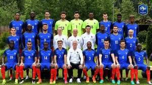 Voici les photos officielles de l'équipe d'Italie et de l'équipe de France !