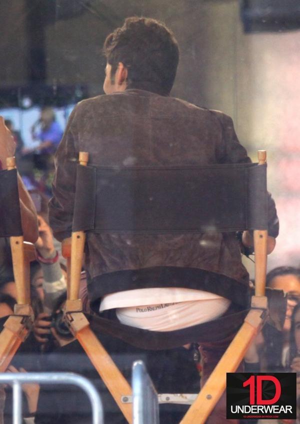Très jolie vu sur les fesses de Zayn Malik !!!