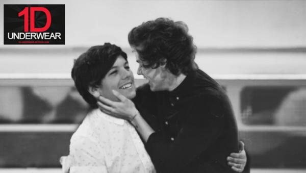Harry et Louis : Le Bisou !