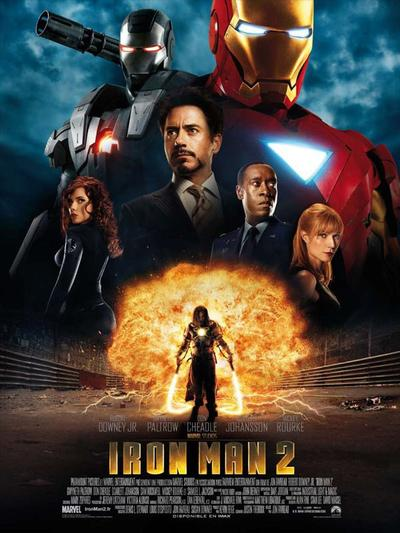 Marvel 3 : Iron Man 2.