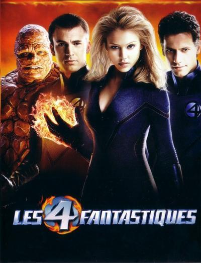 Les 4 Fantastiques.