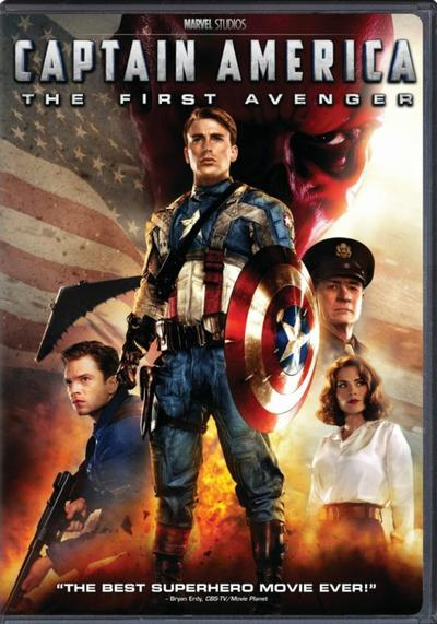 Marvel 5 : Captain America : First Avenger.