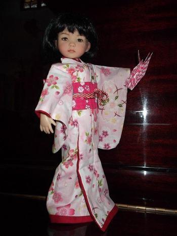 Un mignon petit kimono pour JUN