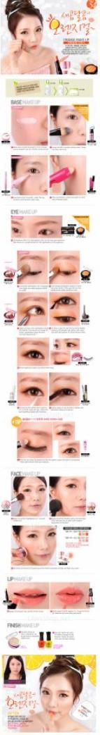 Maquillage coréen ♥