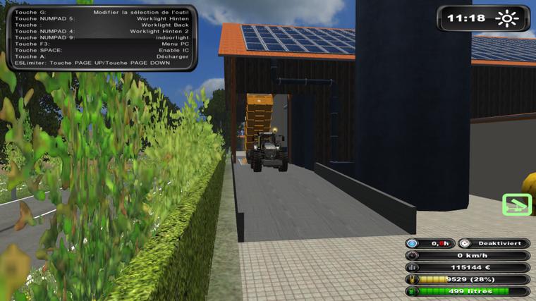 Moisson sur Farming Simulator 2011