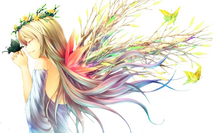 Fille papillon/ fée: 3