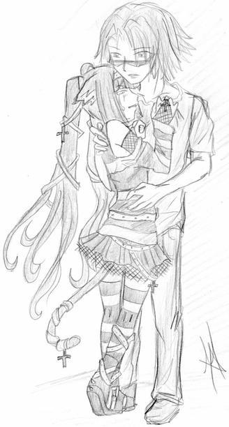 les persos Mina et Shashi