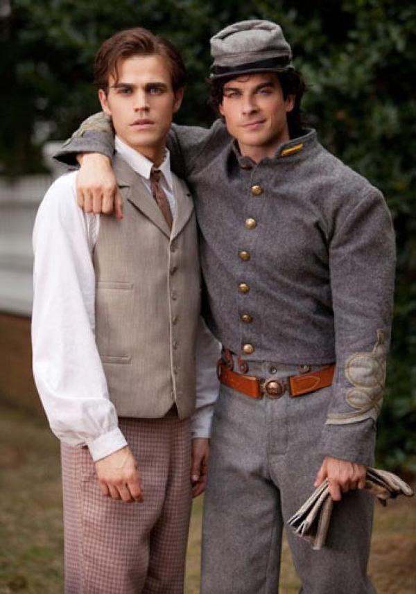 Vampire Diaries 4 : Stefan Salvatore à la guerre !