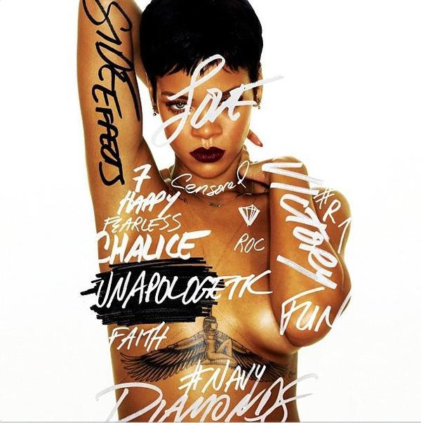Rihanna : la couverture d'UNAPOLOGETIC, son prochain album!