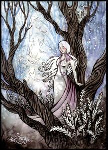 La Mystérieuse Dame Blanche
