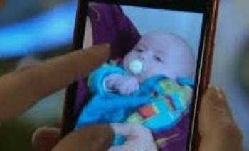 Le bébé de Ninon et Rudy se prénomme Martin !