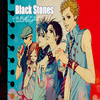 Black stone-Rose